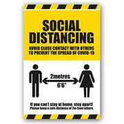 Social Distancing / Hygiene Labels and Graphics