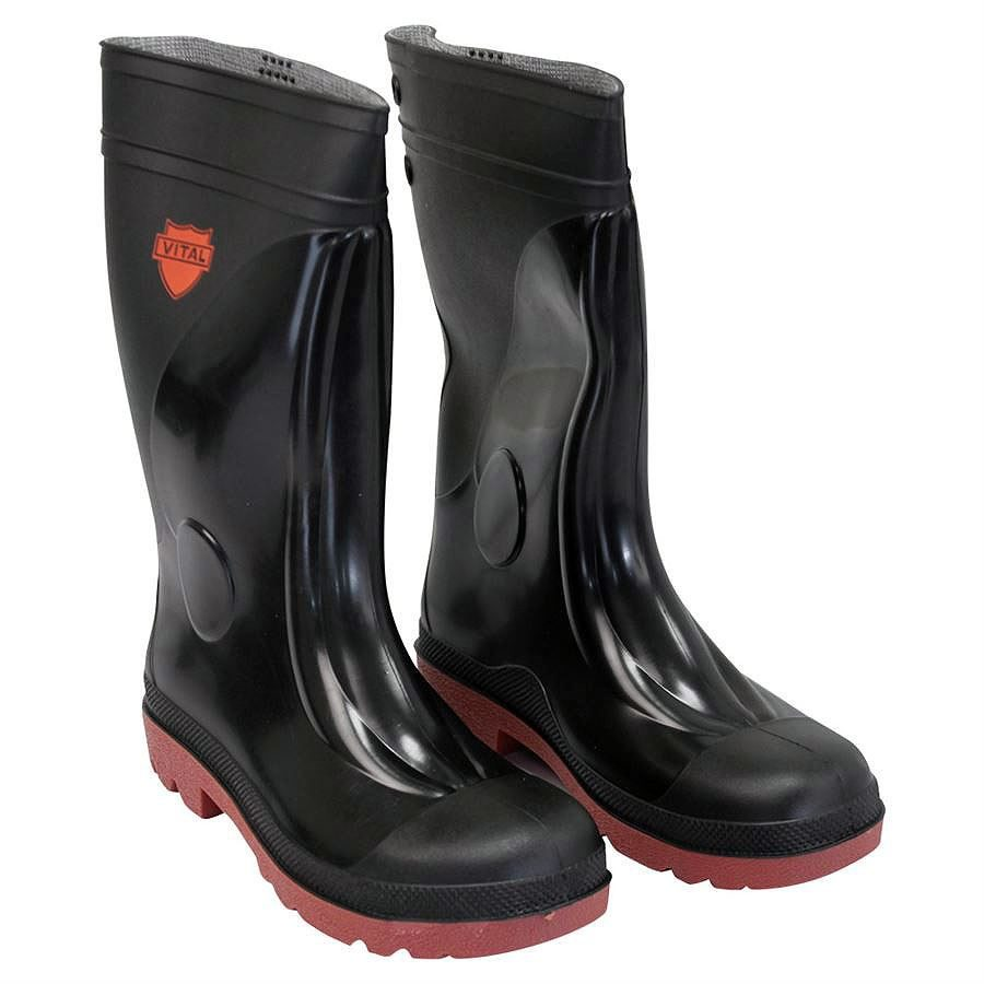 Sitemaster Red Sole Midsole Safety Wellington Boots