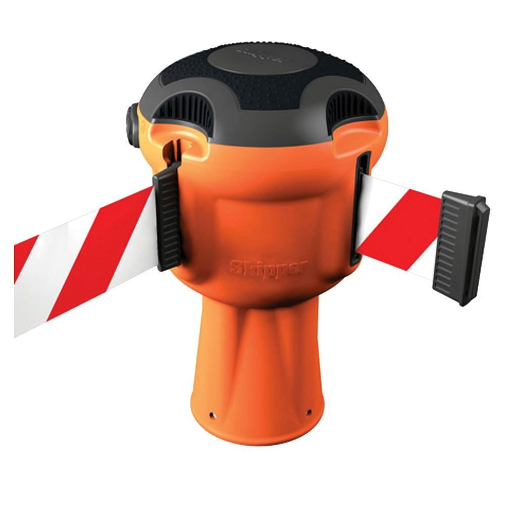 Skipper Cone Safety Management System - Cone Topper - 9m Red/White Tape
