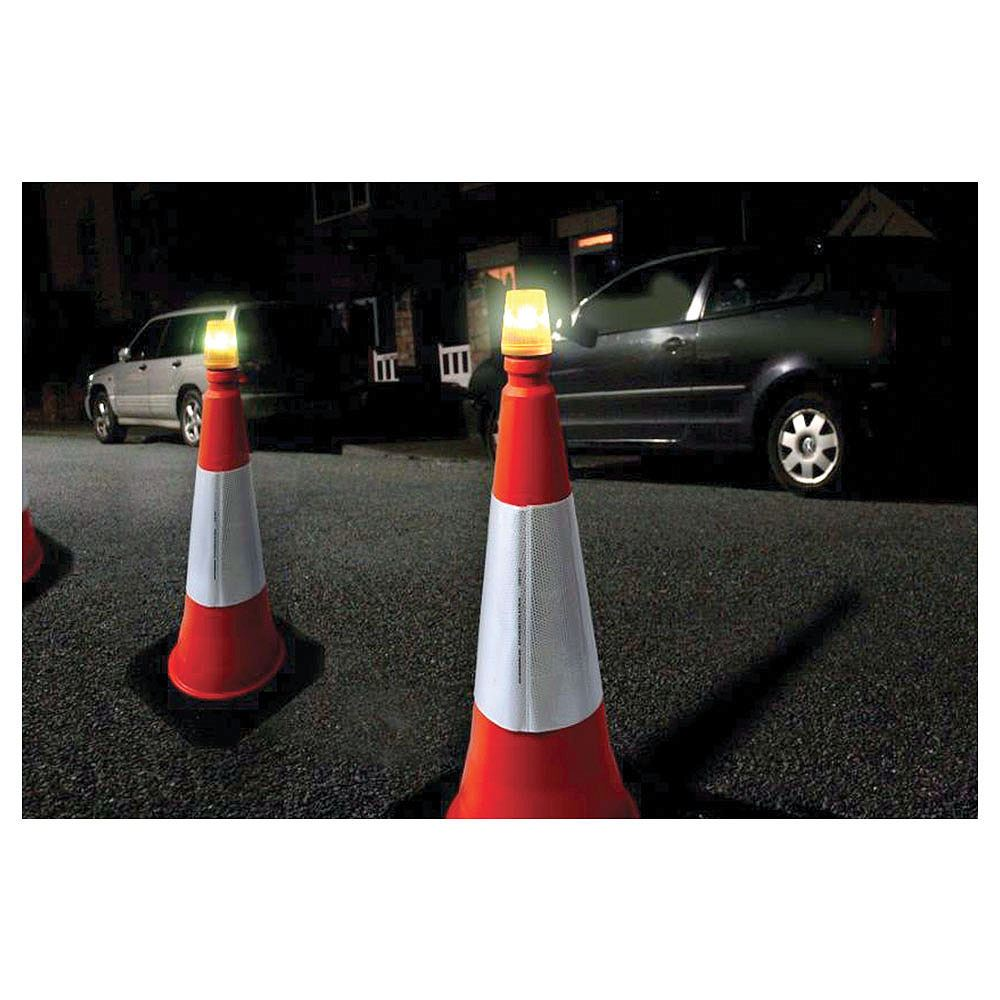 LED Road Cone Safety Light