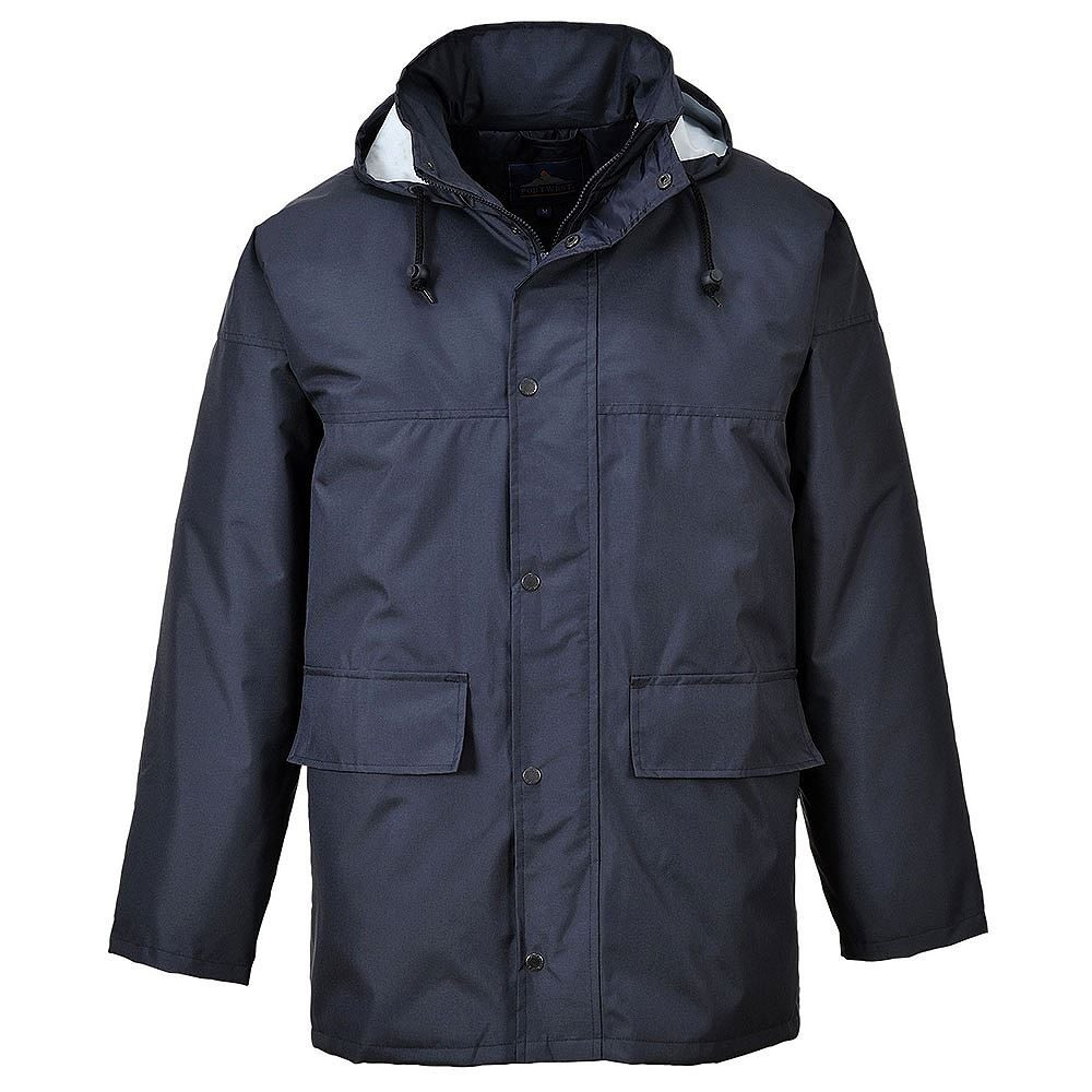 Corporate Traffic Waterproof Navy Jacket