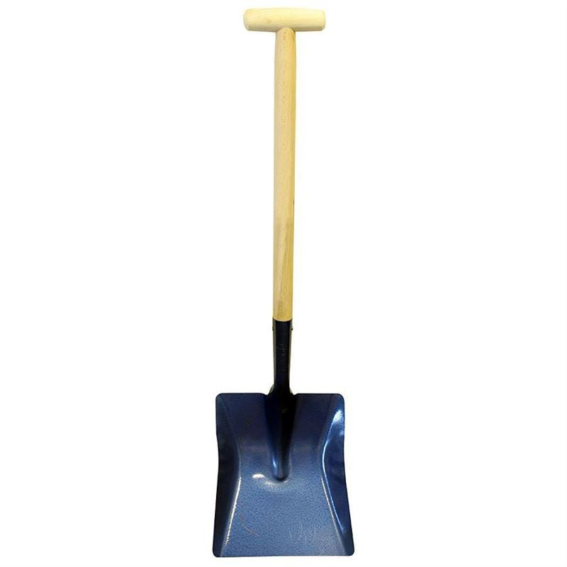 No. 6 Shovel - Wooden T Handle