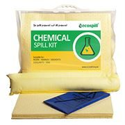 Ecospill Chemical Spill Response Kit - Clip Top Carrier