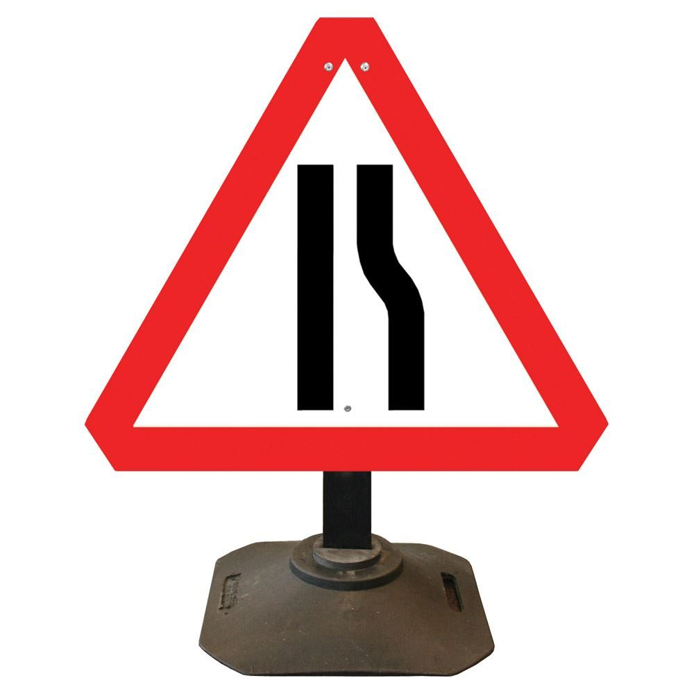 Louis Road Narrows Offside Sign - 750mm