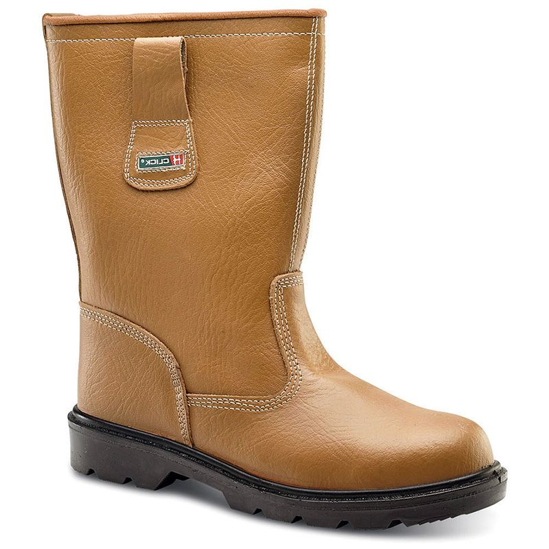Unisex Safety Rigger Boots - Unlined