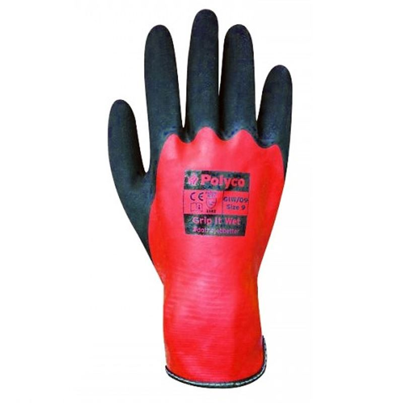 Polyco Grip It Wet Safety Gloves