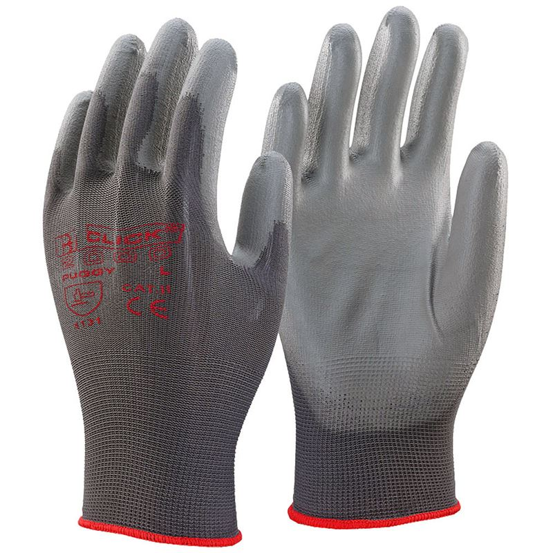 Puggy PU Nylon Safety Gloves