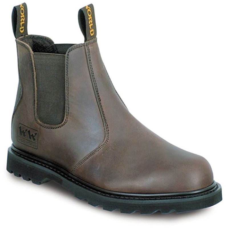 Wood World Anti Static Sole Dealer Safety Boots