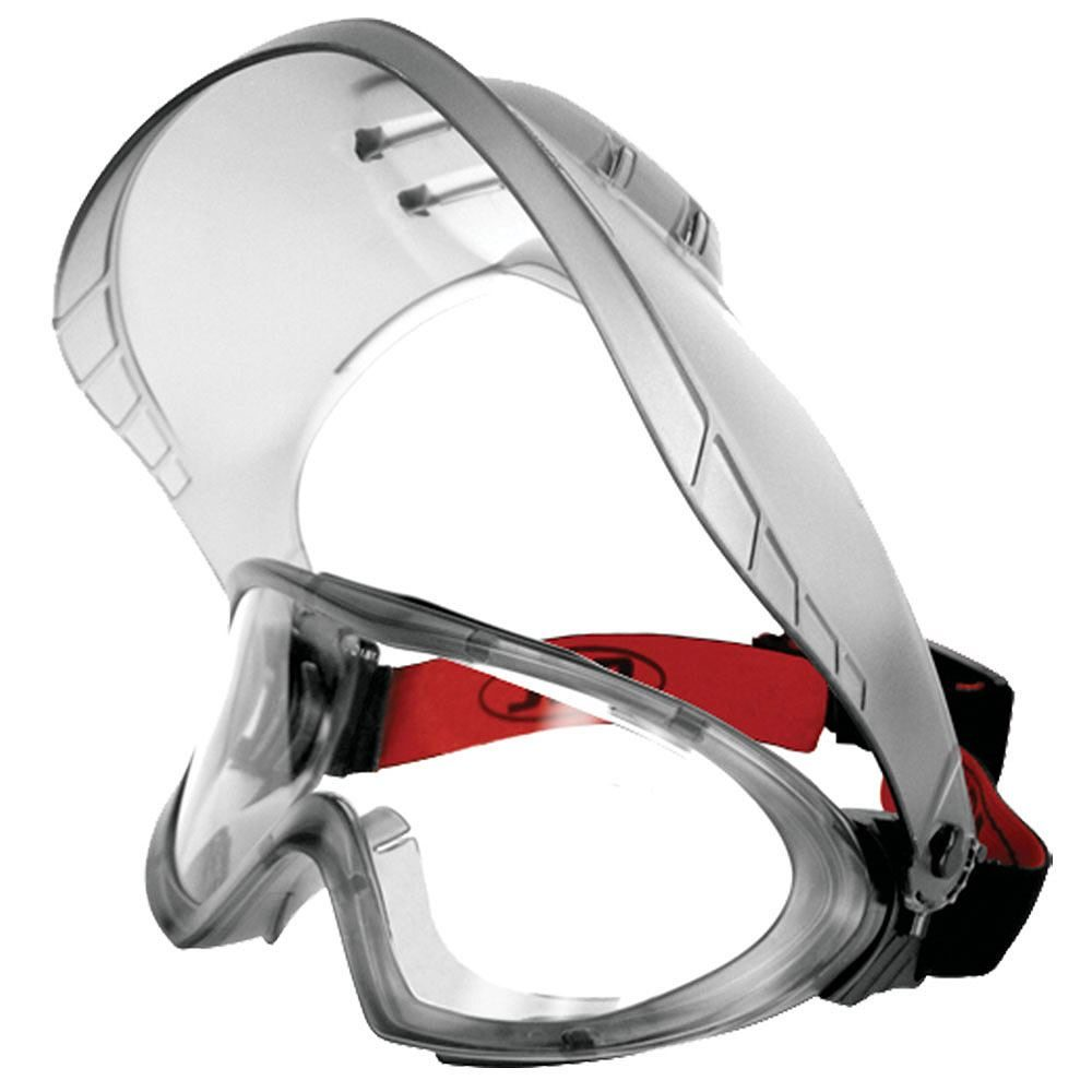 JSP Stealth 9200 Face Shield Safety Goggles - N Rated with MistResist+