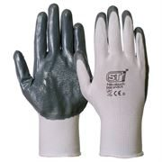 Nitrile Coated Palm Safety Gloves