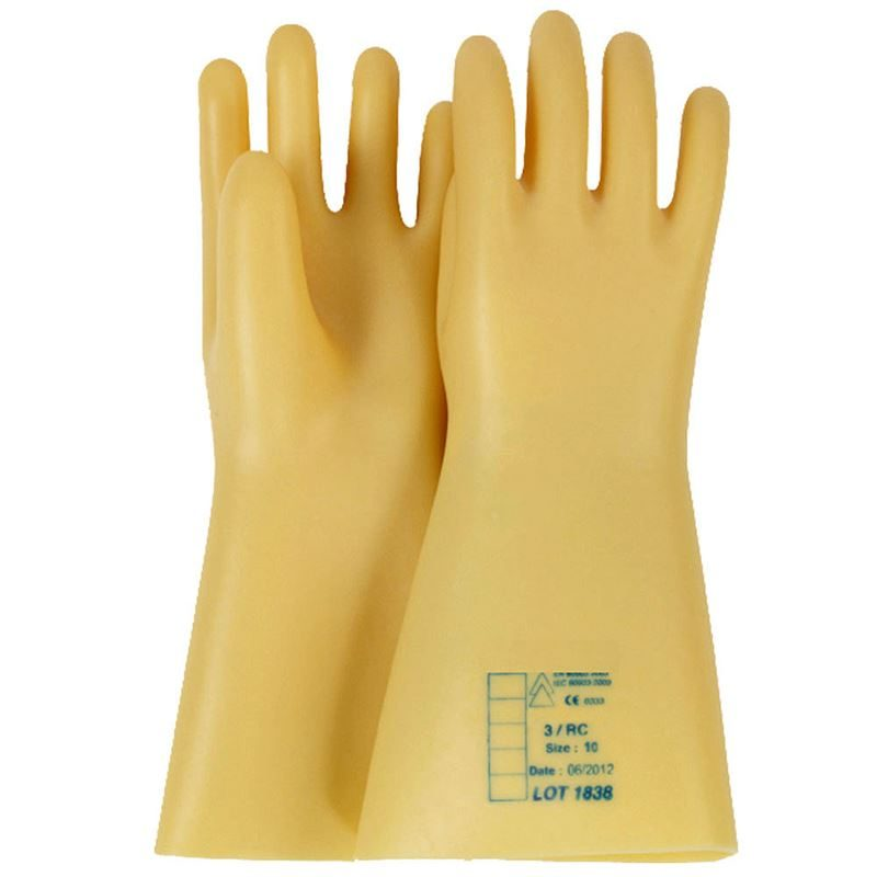 Electricians Dielectric Insulating Gloves