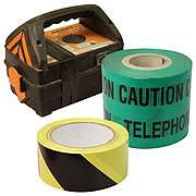 Warning Tapes and Supplies