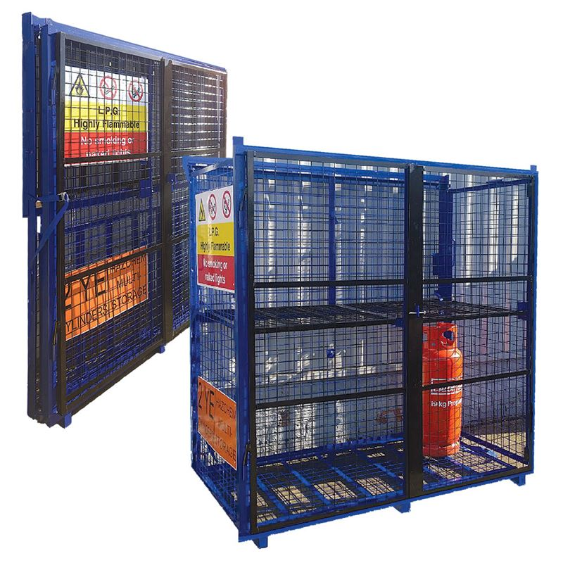 One Piece Folding Cage - 1690mm x 880mm x 1780mm