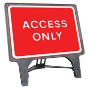 CuStack Access Only Sign - 1050 x 750mm