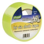 Hi Vis Cloth Tape - 50mm x 20m