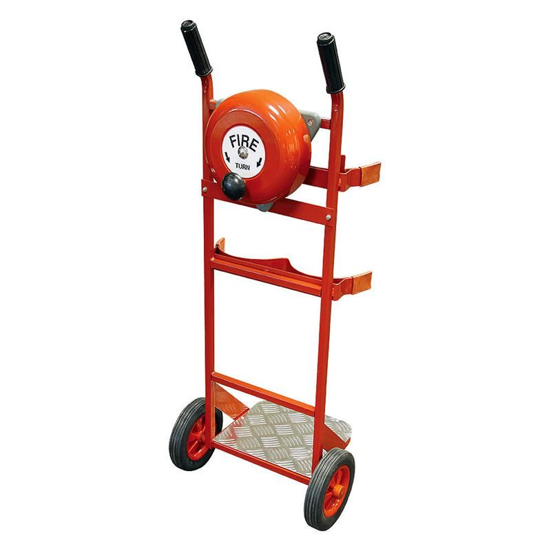 Fire Extinguisher Trolley with Bell