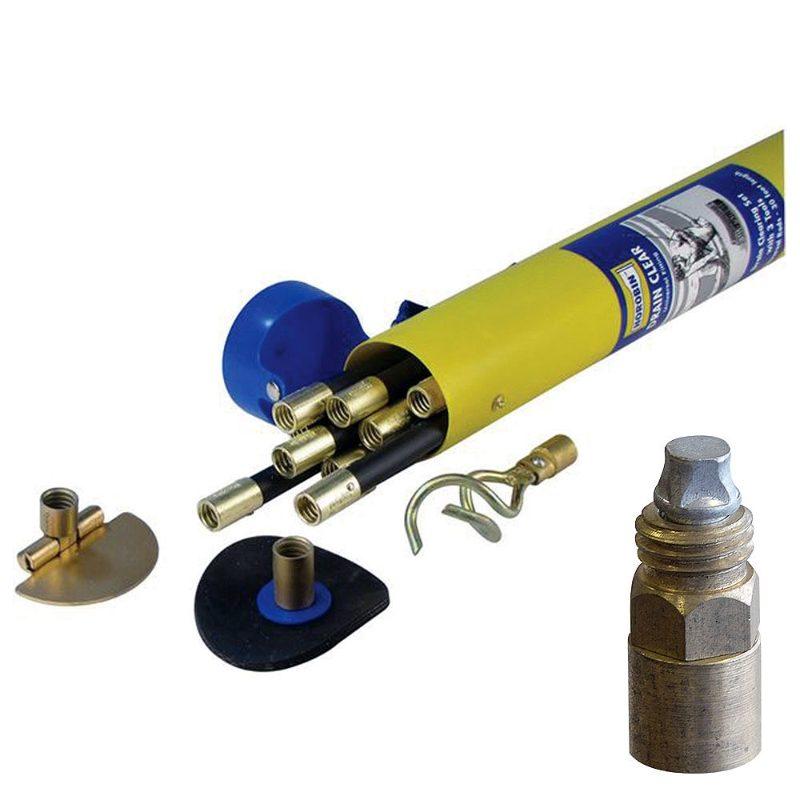 Drain Rod Set - Lockfast Fitting