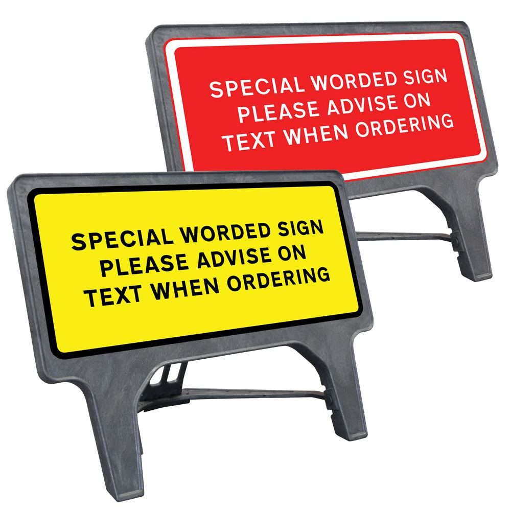 CuStack Special Sign - 1050 x 450mm
