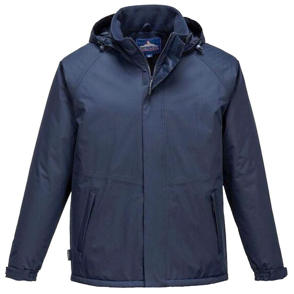 Portwest Limax Insulated Rain Jacket - Navy
