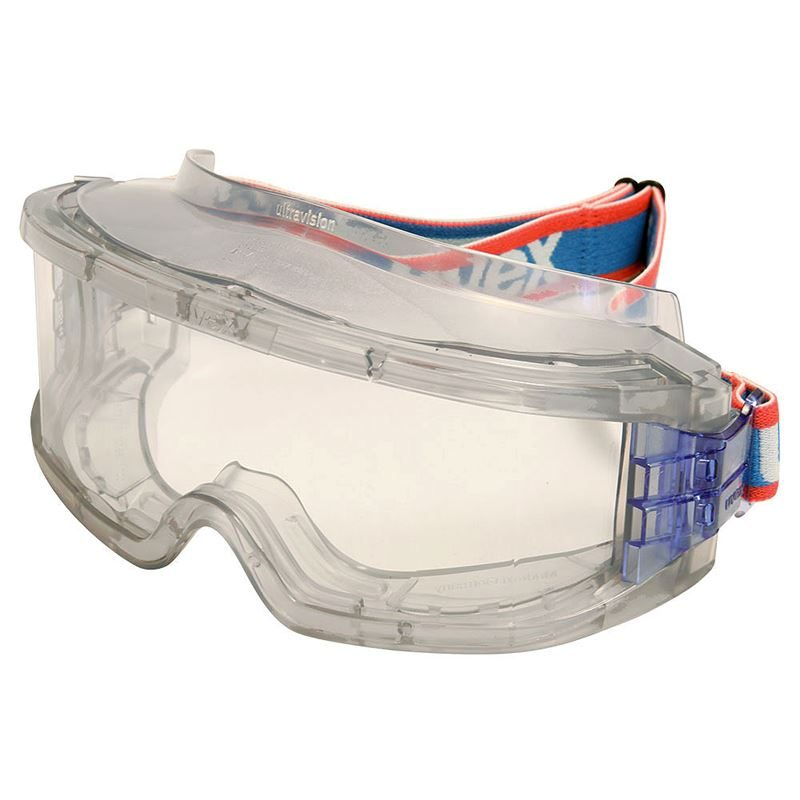 Uvex Ultravision Safety Goggles - Clear Lens