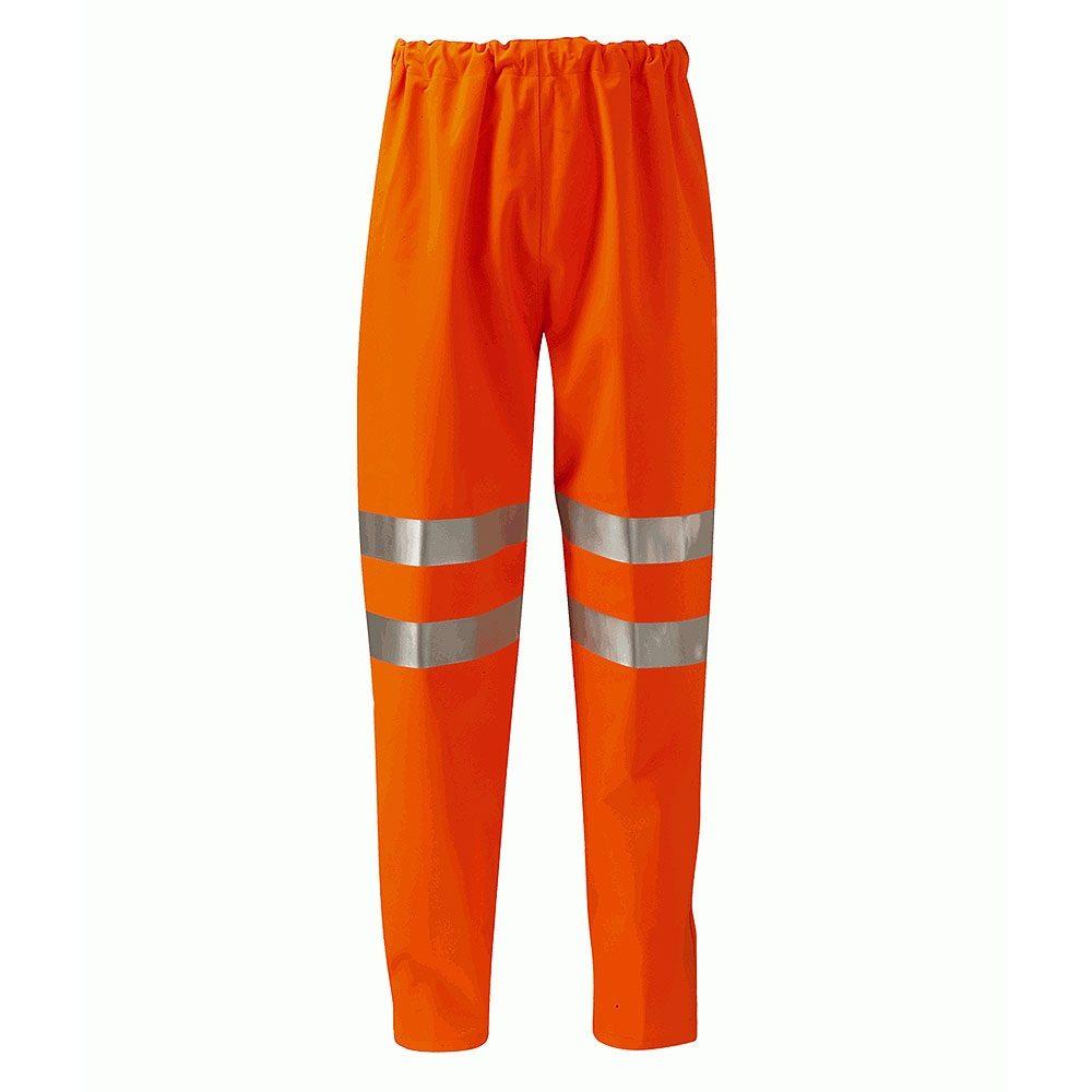 Orbit International Rhine Gore-Tex Rail Waterproof Breathable Hi Vis Class 1 Orange Overtrousers