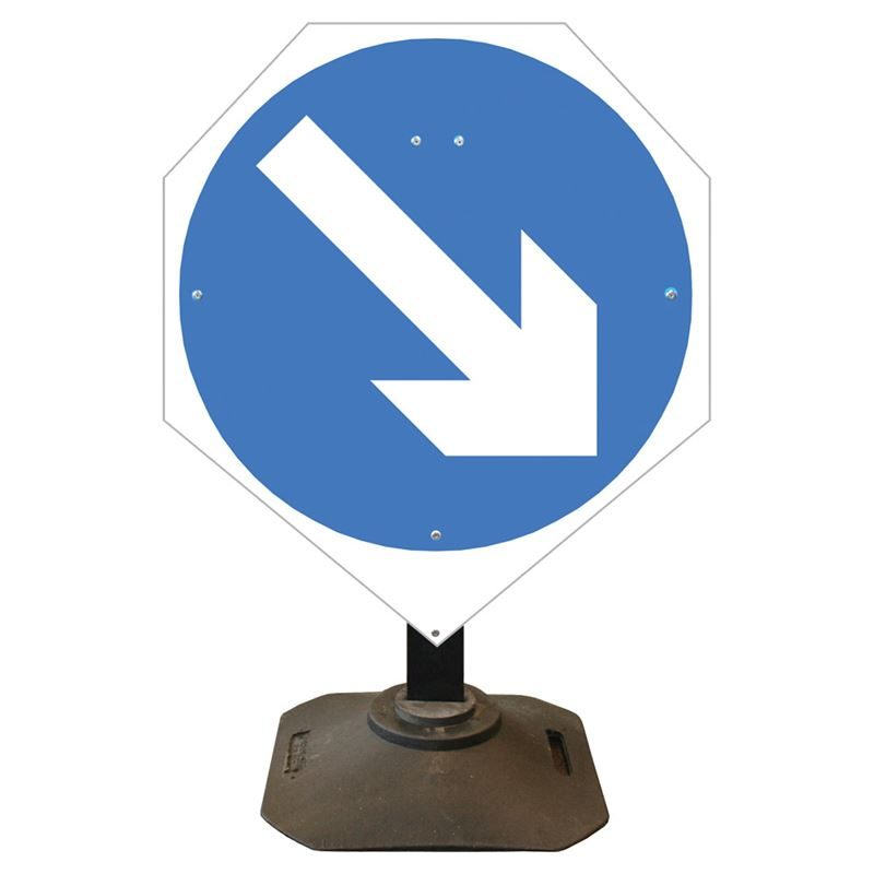 Louis Keep Right Sign - 750mm