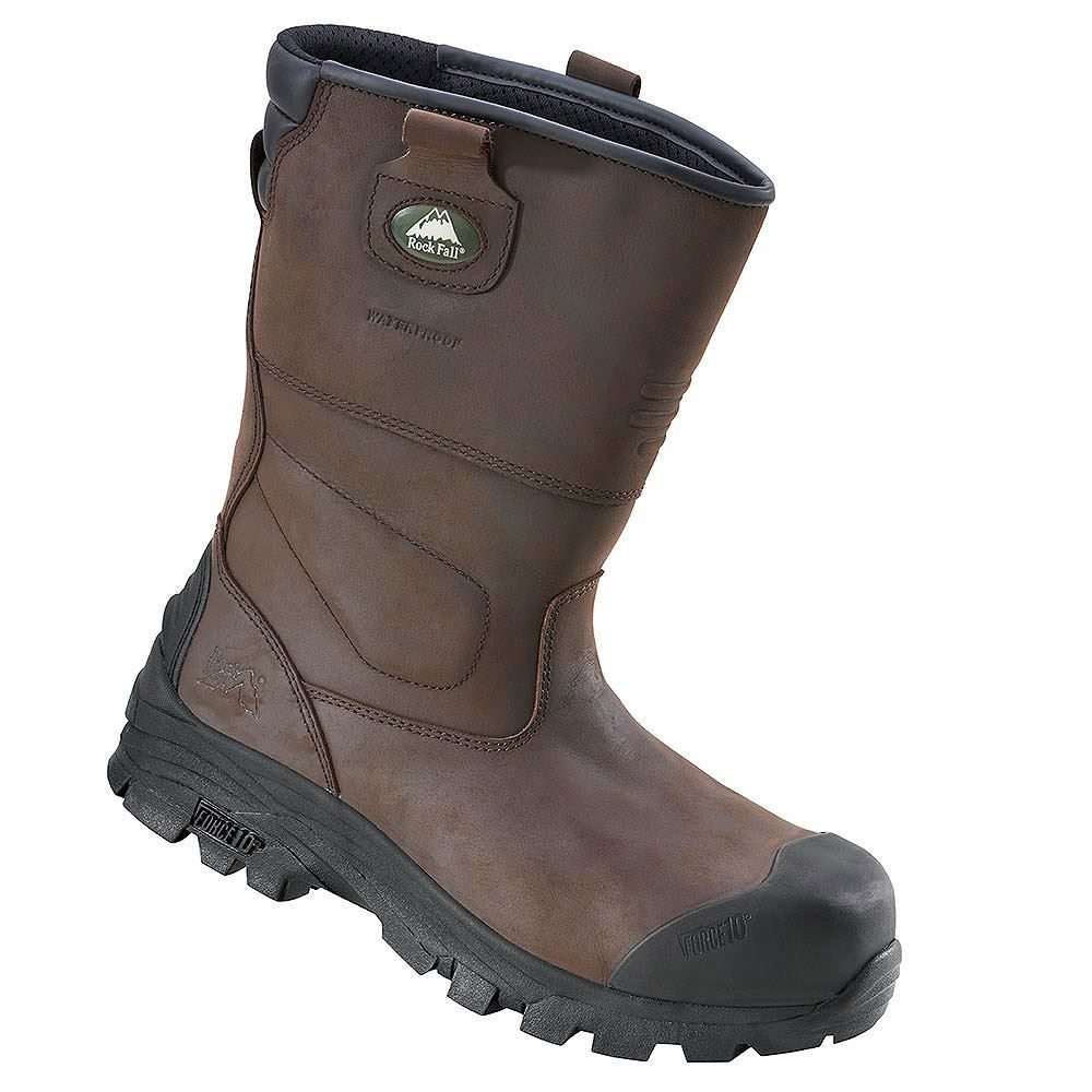 Rock Fall Texas Safety Rigger Boots