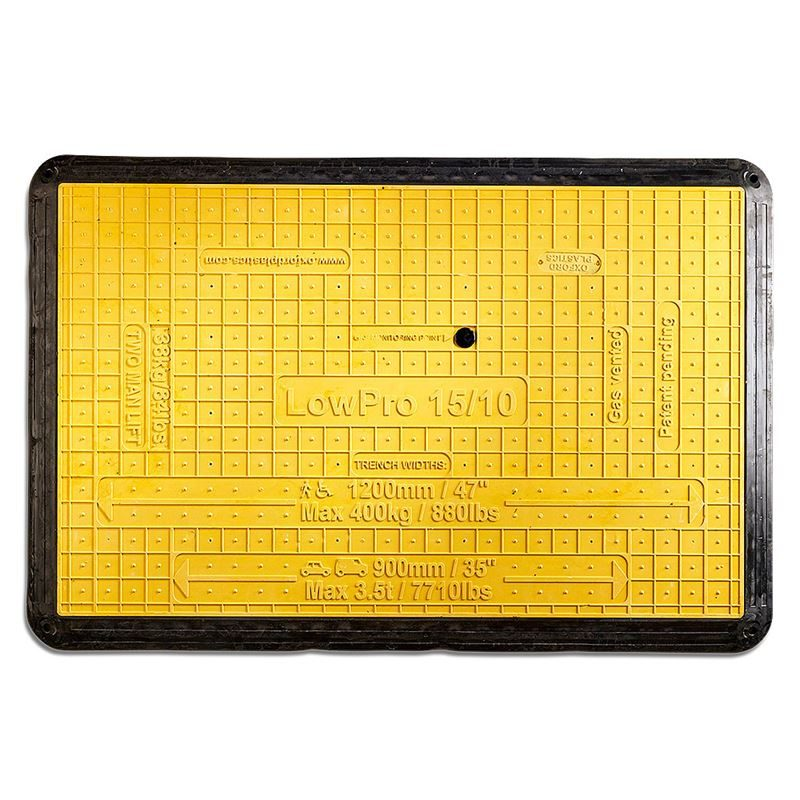 Oxford Plastics LowPro 15/10 Trench Cover - 1500mm x 1000mm