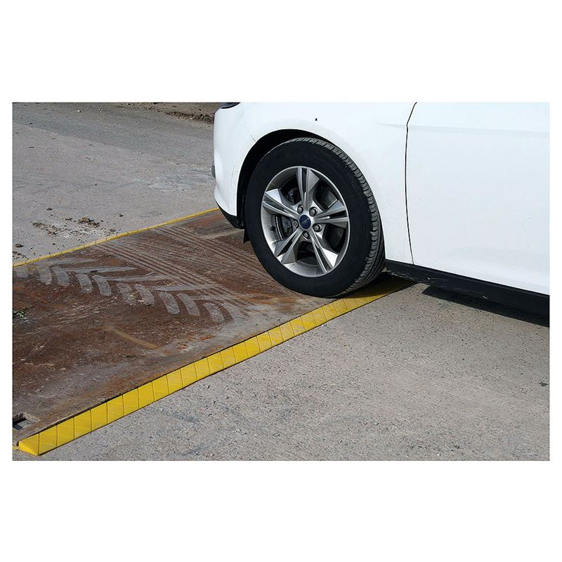 PlateSafe Steel Road Plate Edging - 2.4m