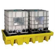 Ecospill PE Double IBC Spill Pallet - 256 x 135 x 51cm