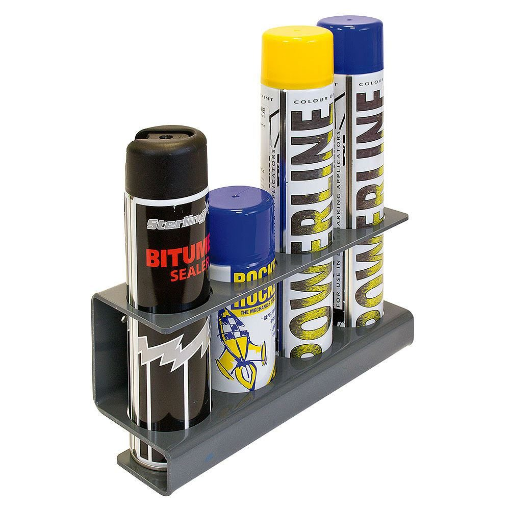 Applicator and Spray Can Storage Rack - 300mm x 95mm x 140mm