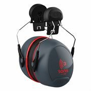 JSP Sonis 3 Helmet Mounted Ear Defenders - 36 dB SNR