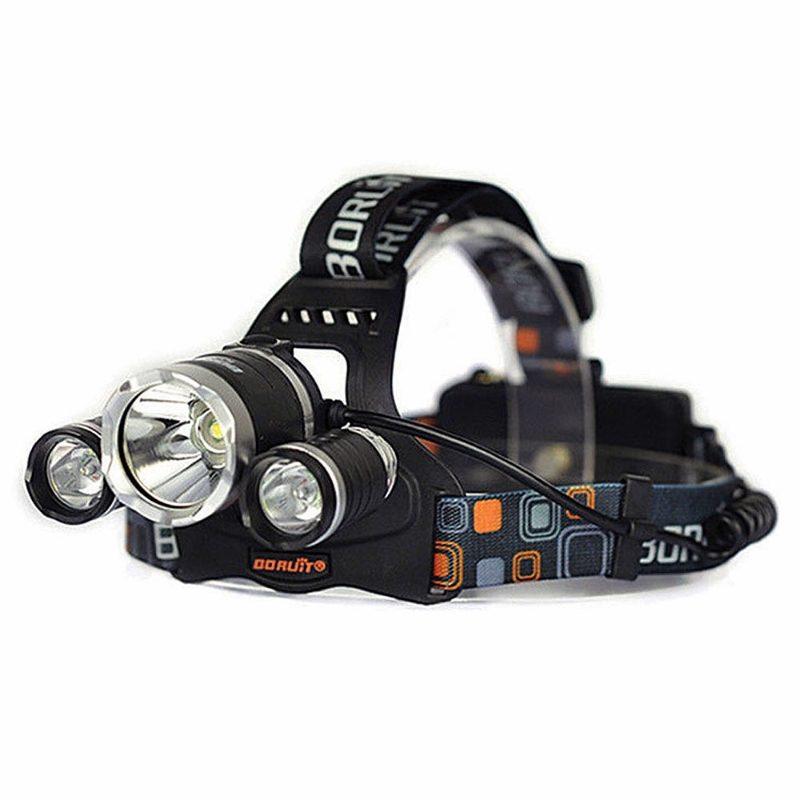 RJ3000 Rechargeable 4 Mode LED Headlight
