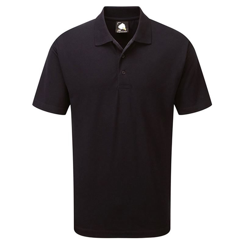 Orn Raven Polo Shirt - 190gsm - Navy