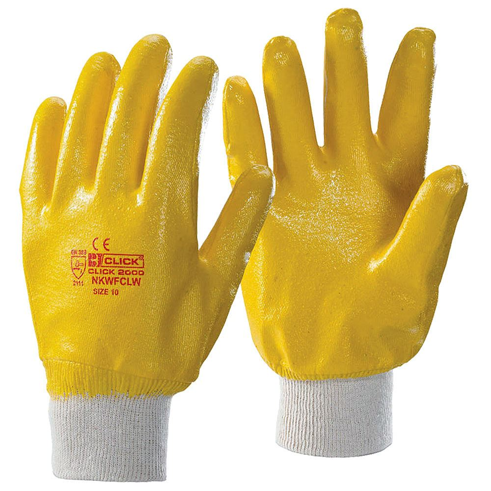 Lightweight Fully Coated Nitrile Safety Gloves