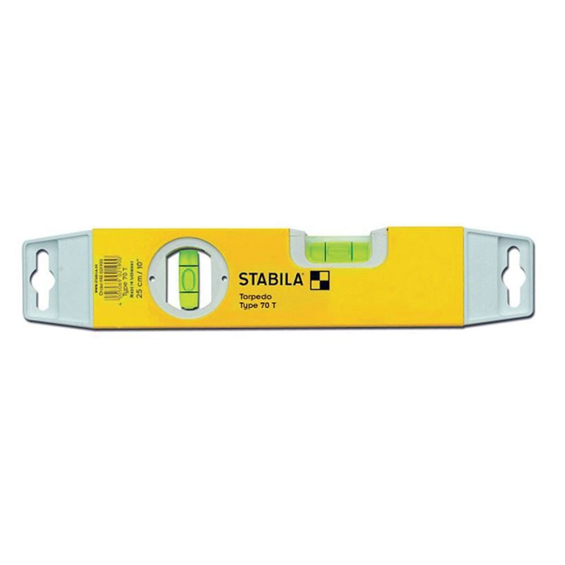Stabila 70 T Torpedo Spirit Level - 25cm