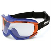 JSP Stealth 9100 Safety Goggles - Blue / Orange - N Rated