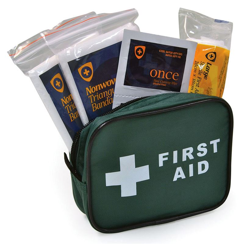 HSE 1 Person First Aid Kit - Zip Bag