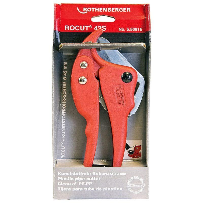 Rothenberger Rocut PVC Pipe Cutter