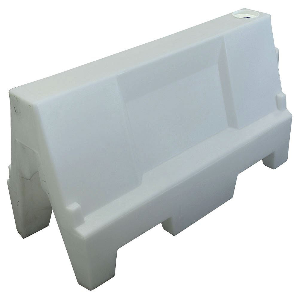 Q-Wall Barrier System - 1m x 600mm - White