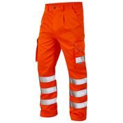 Jafco FlameAwear Rail Flame Retardant Anti Static Arc 4kA Hi Vis Class 2 Orange Cargo Trousers