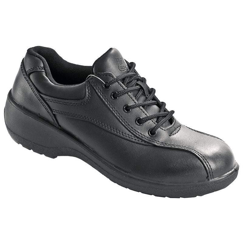 Vixen Amber Women's Lace Up Safety Shoes