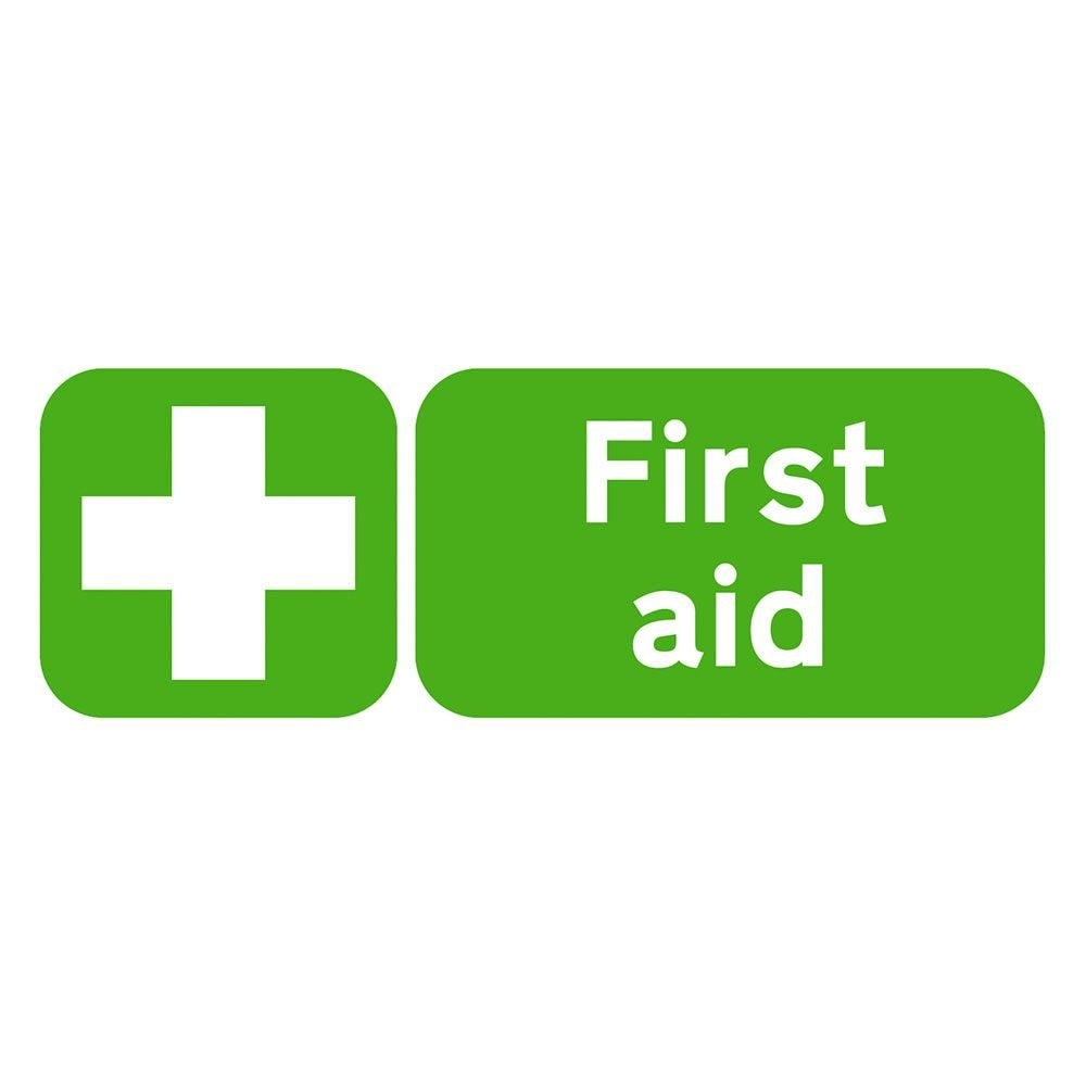 First Aid Sign - 600 x 200 x 1mm