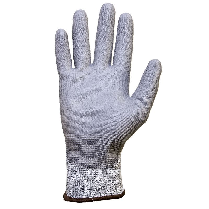 Jafco Lightweight Cut Level D Palm Coated Safety Gloves
