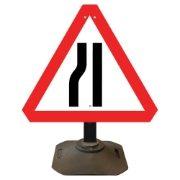 Louis Road Narrows Nearside Sign - 750mm