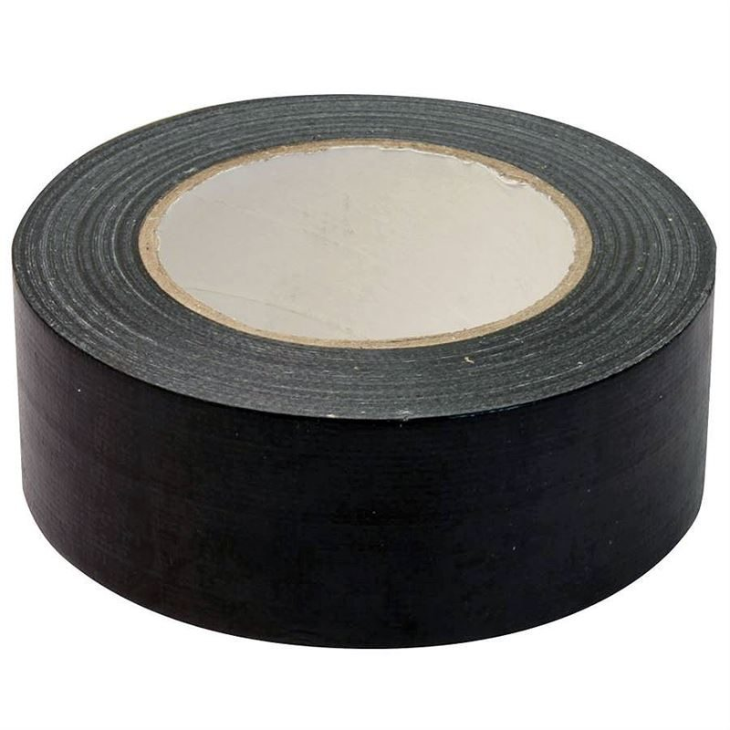 Cloth 'Gaffa' Tape - Black - 50mm