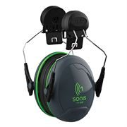 JSP Sonis 1 Helmet Mounted Ear Defenders - 26 dB SNR