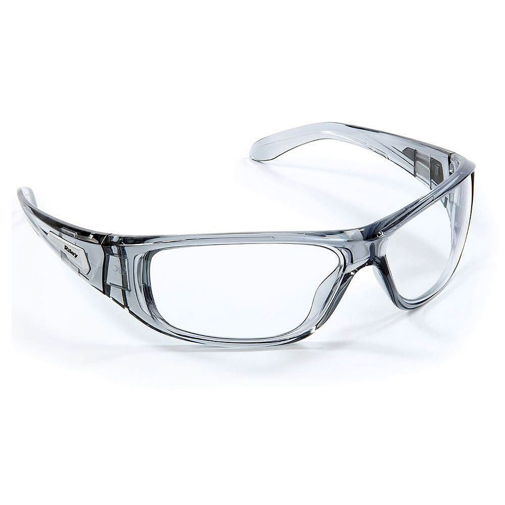 Riley Strobe Safety Glasses - Clear Lens