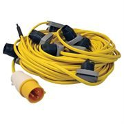 ES (Edison Screw) Festoon Cable - 100m