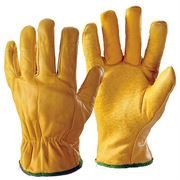 Drivers Leather Safety Gloves